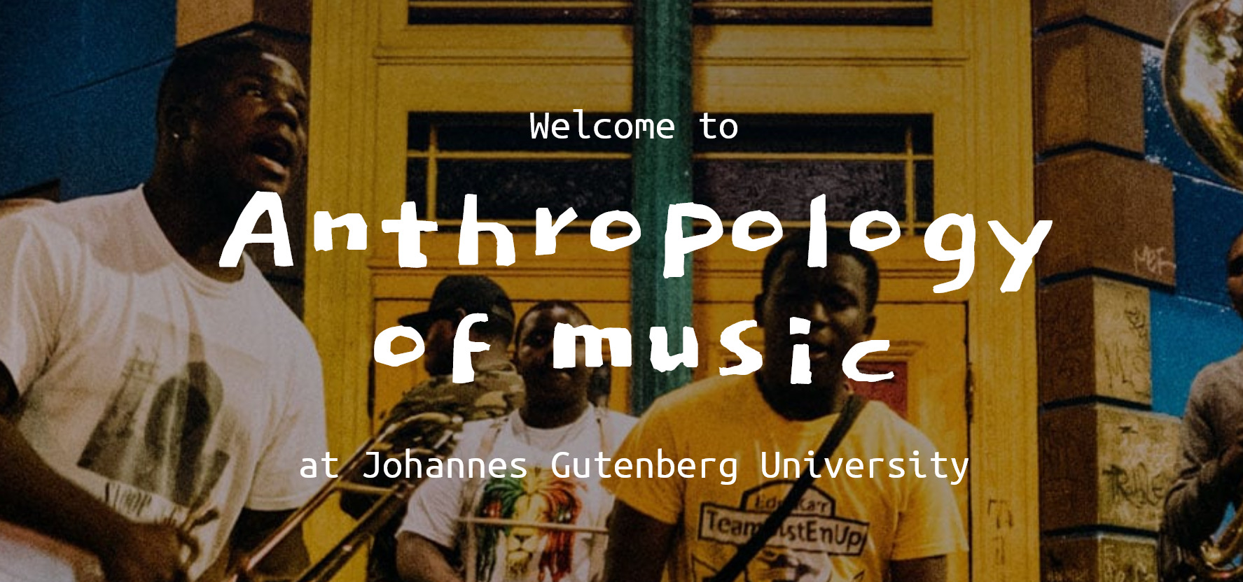 Anthropology of Music - Lecture Series and Master Class